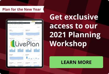 End of year LivePlan extra large cta