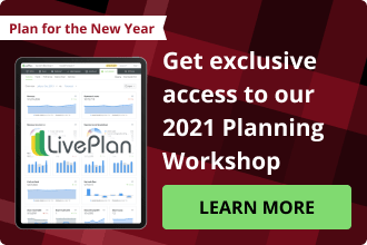End of year LivePlan extra small cta